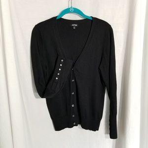 Apt. 9 black career sweater